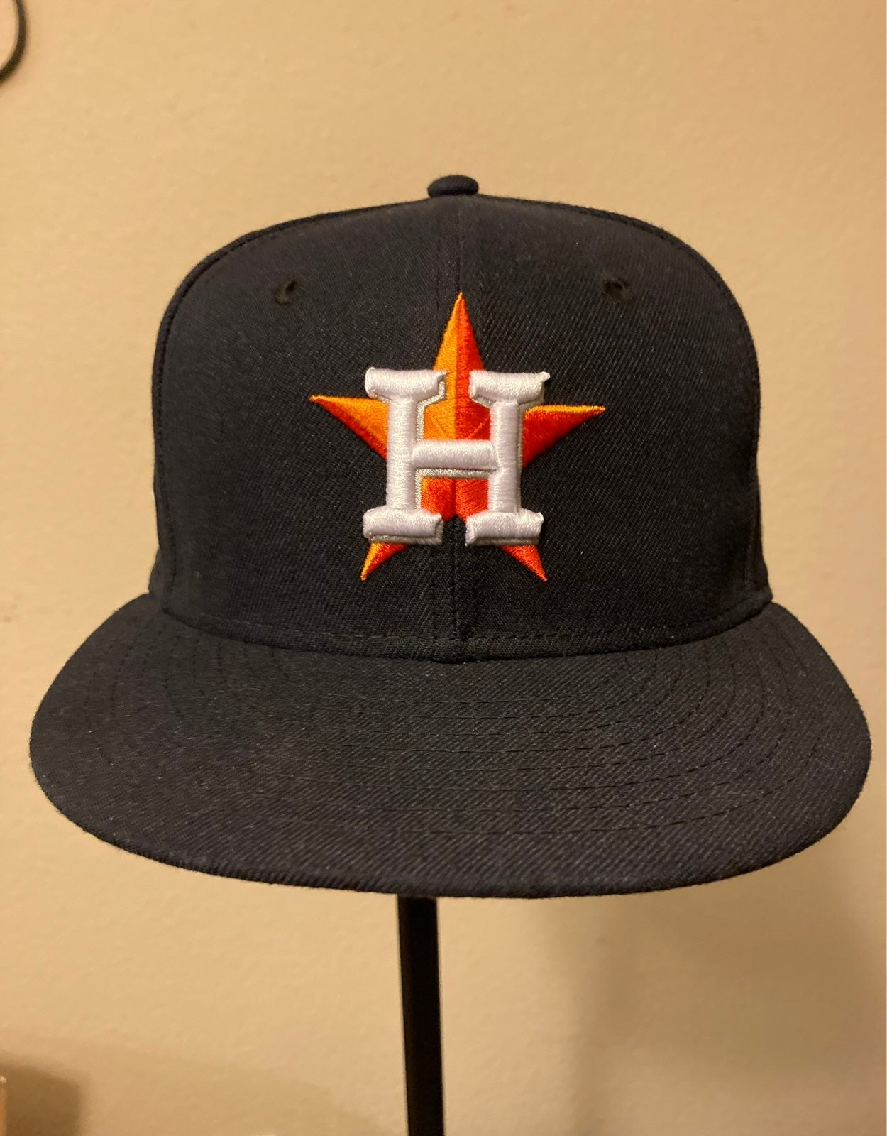 Houston Astros New Era Fitted Hat 7 1/8