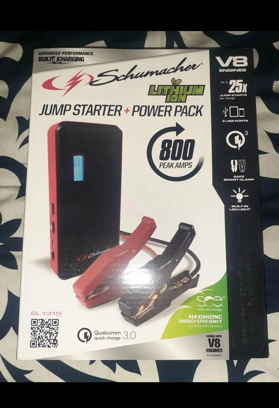 Schumacher Jump Starter And power pack