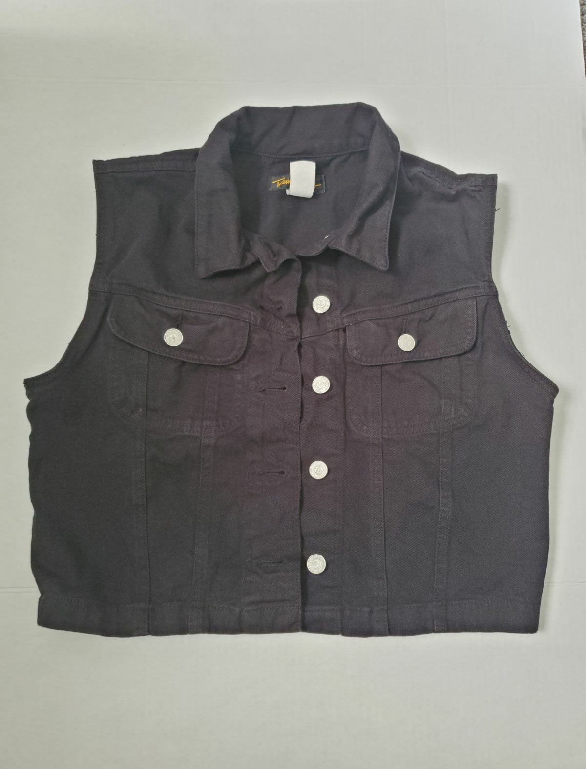 Denim vest made in the USA