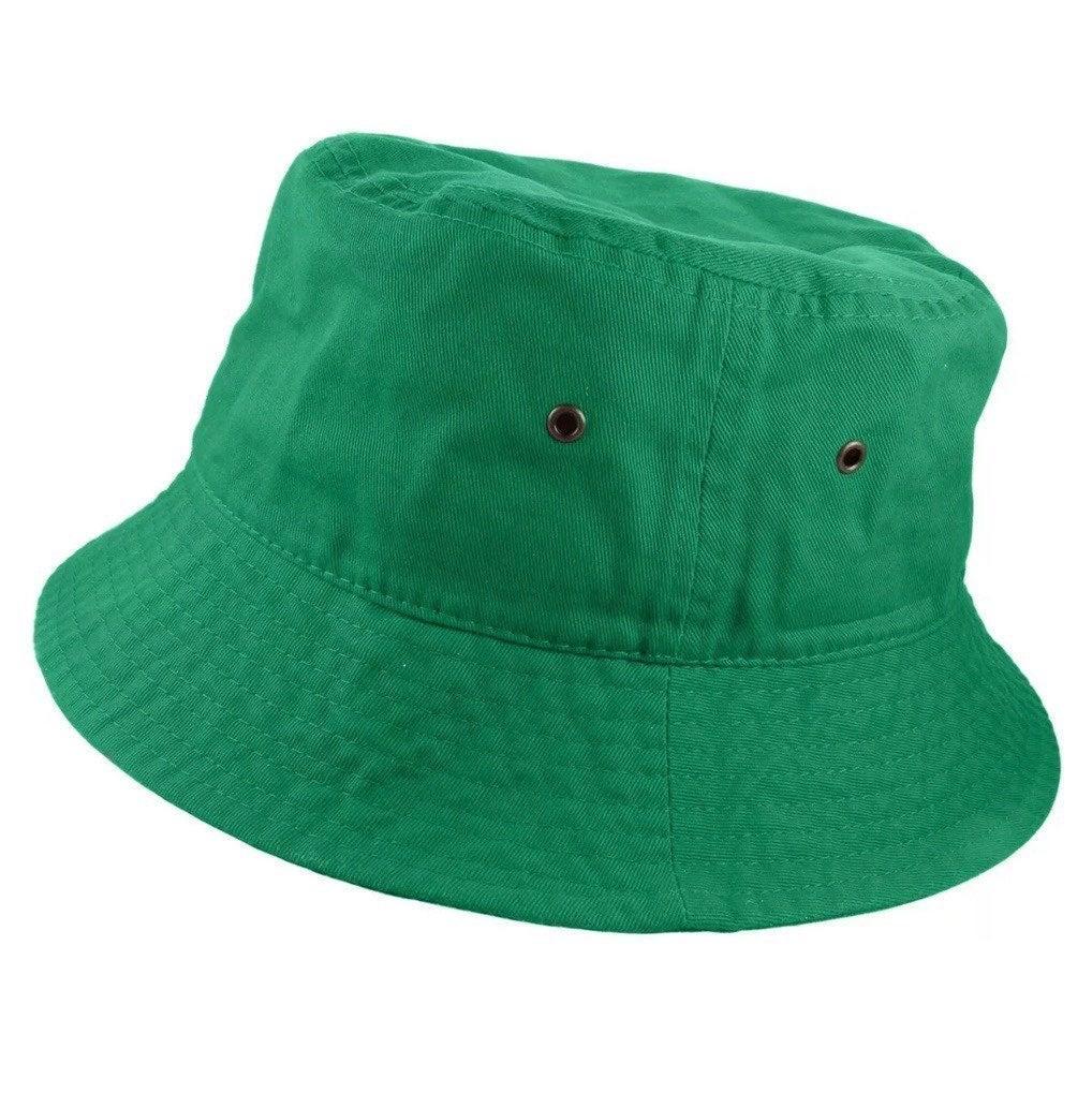 Kelly Green Bucket Hat
