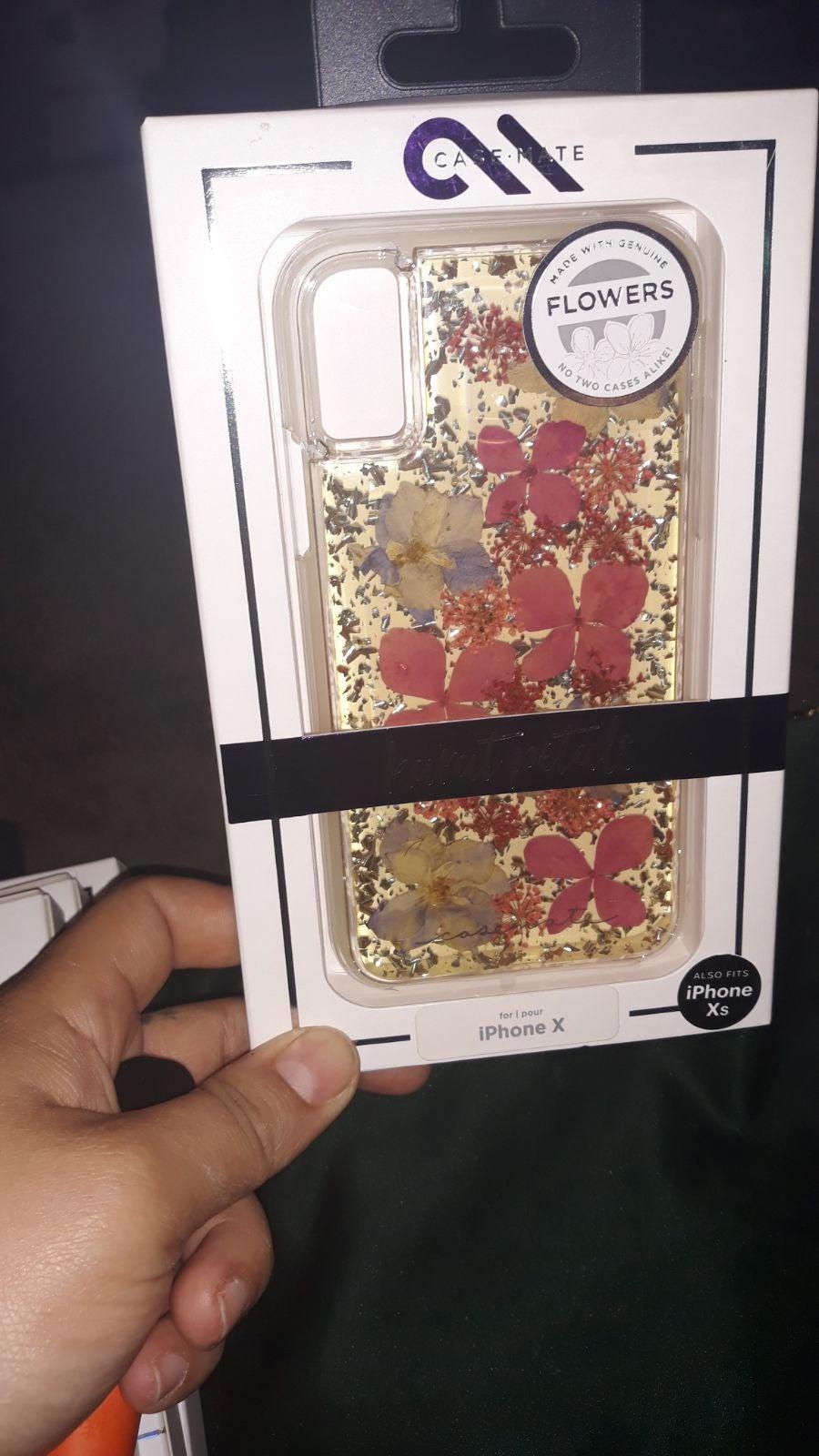 Floral Iphone x/xs casemate case