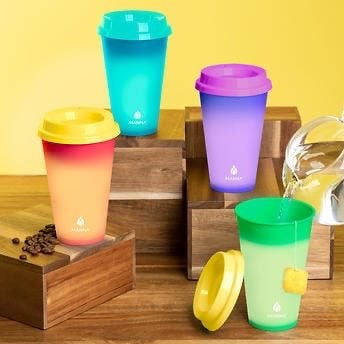 Set of 12 - Manna Color Changing Cups