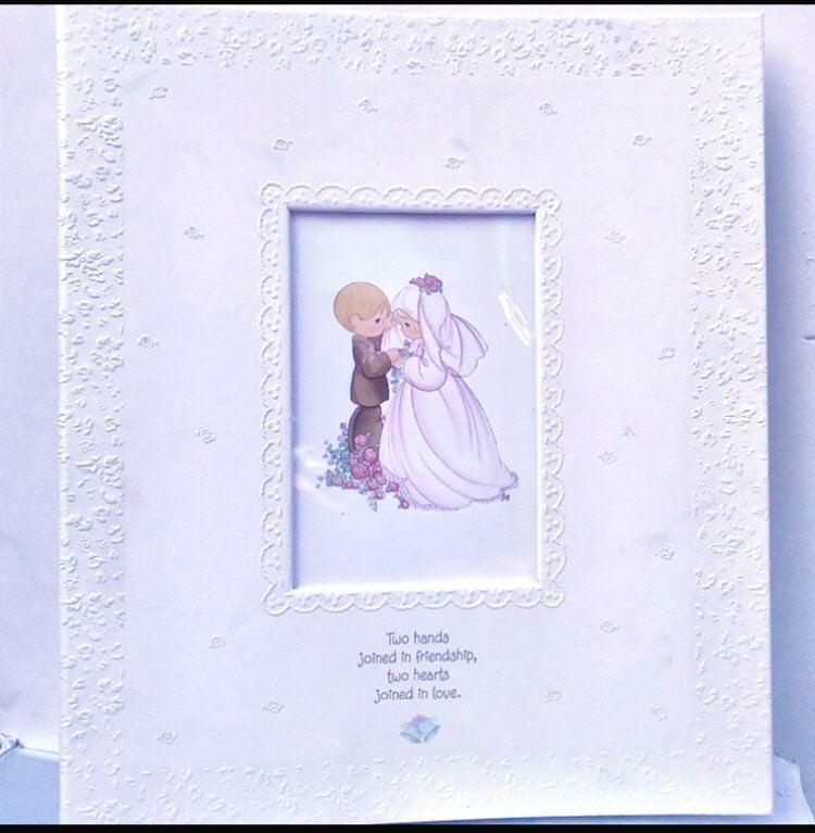 Hallmark precious moments wedding album