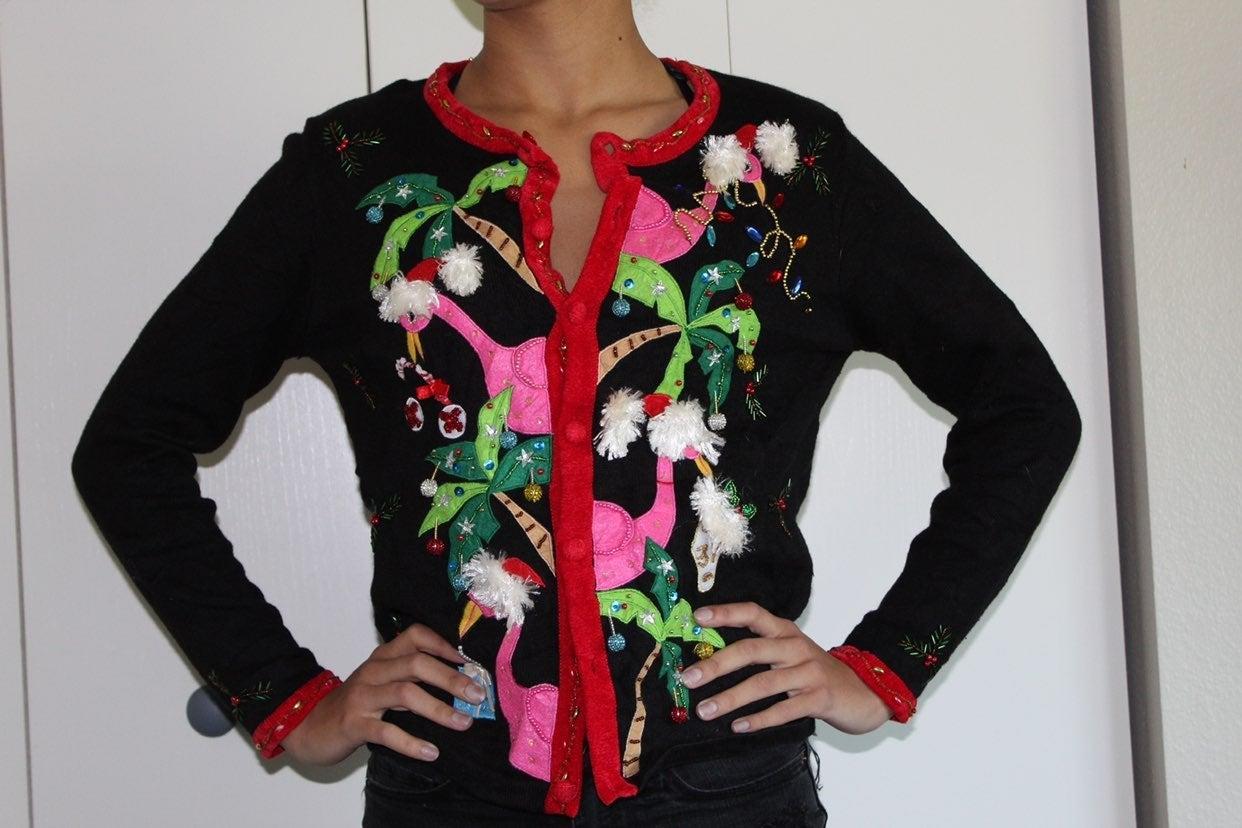 ugly christmas sweater | small