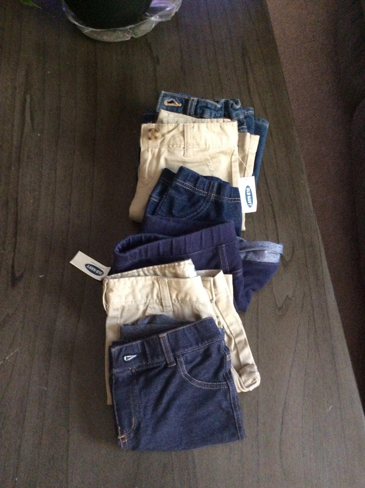 Girls size 7 shorts 6 pairs