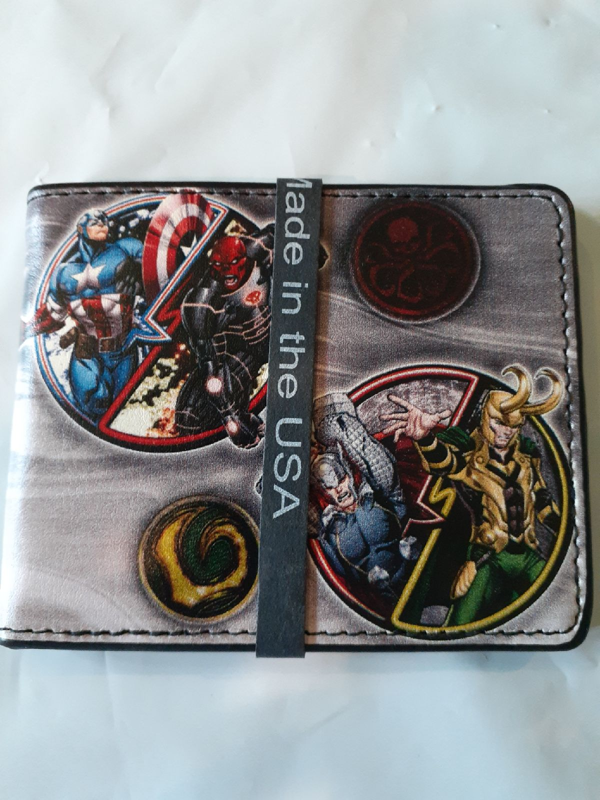Marvel Buckle-Down Avengers Wallet
