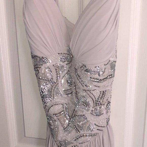 Mignon Draped Evening Dress VM709