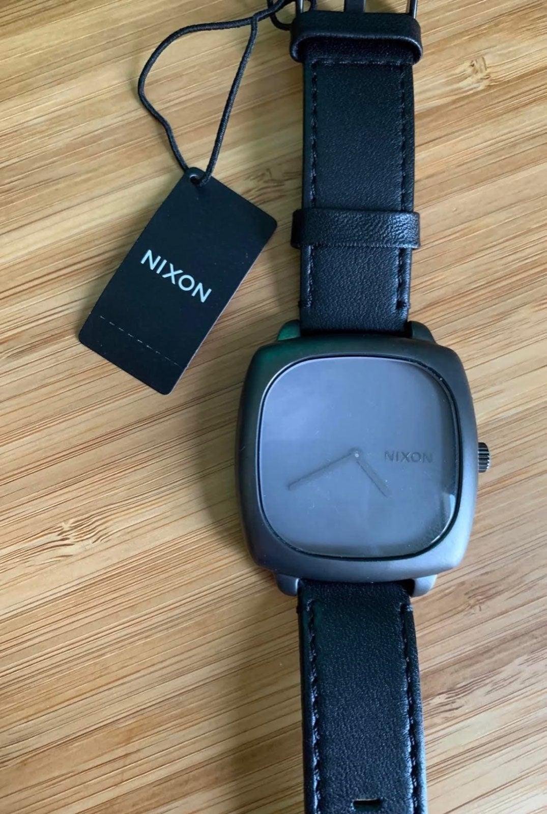 New Nixon Gun Metal Grey Wrist Watch