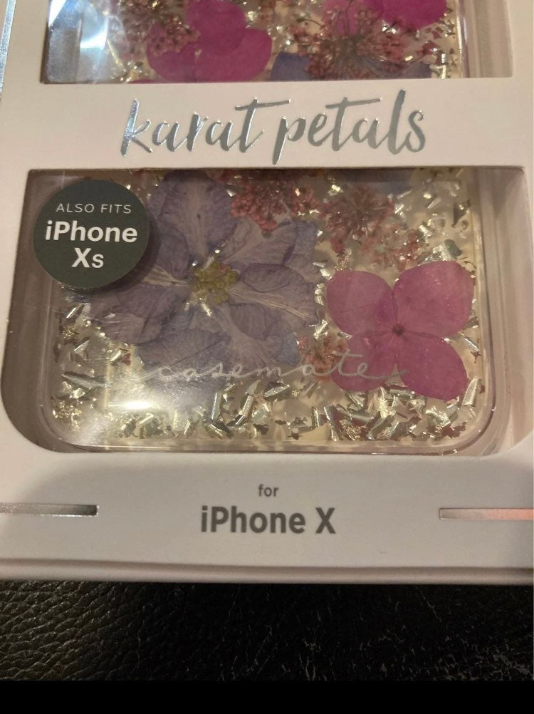 NWT Casemate petal iPhone X Xs case