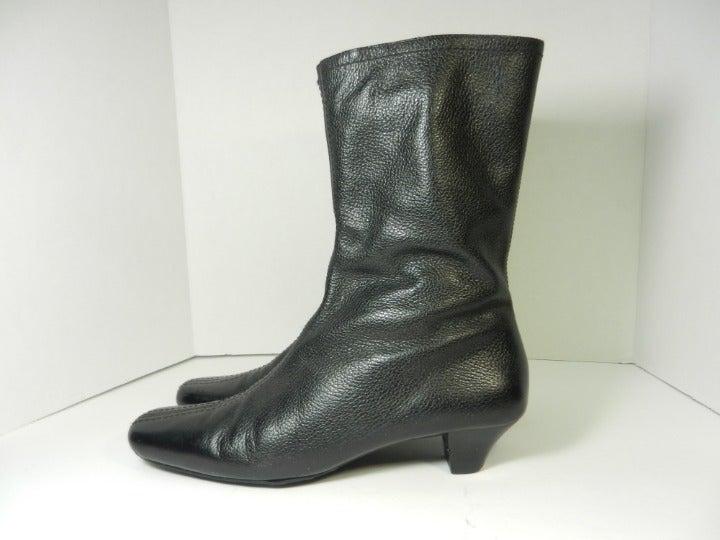 EDDIE BAUER Black Mid-Calf Boot - sz 9