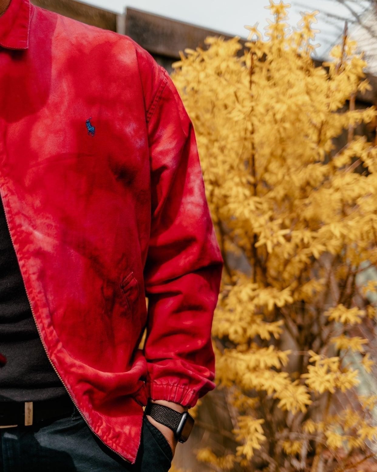 1975 Ralph Lauren Vintage Red Jacket
