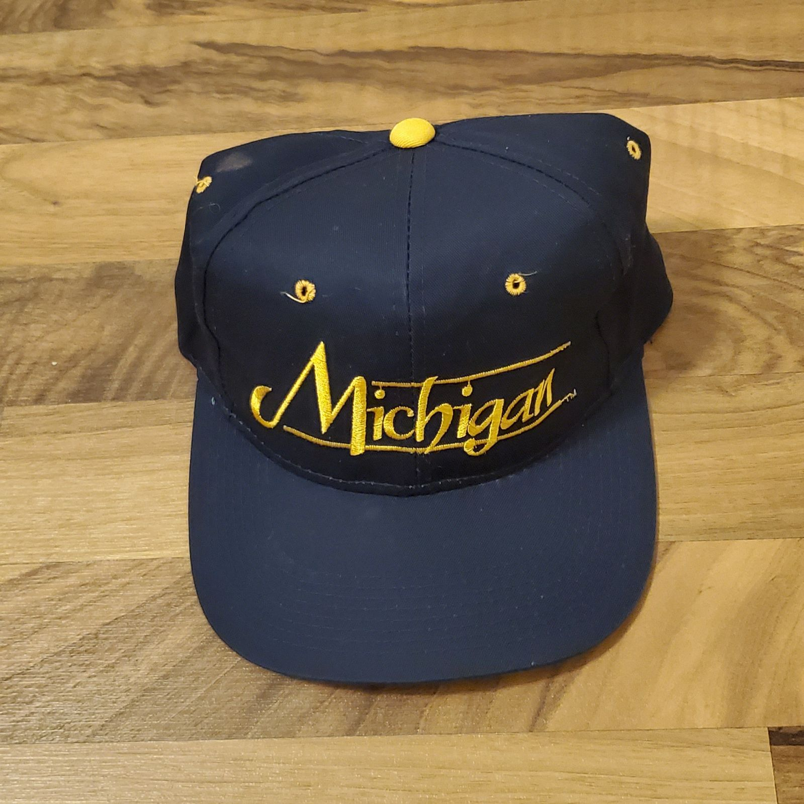 Vintage Michigan Snapback Hat