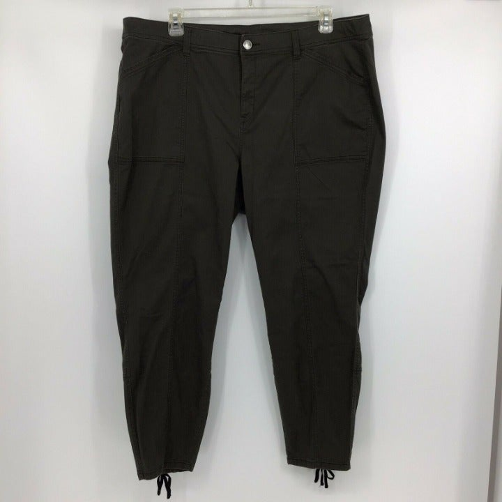 Lane Bryant Plus Slim Ankle Pant Sz 22
