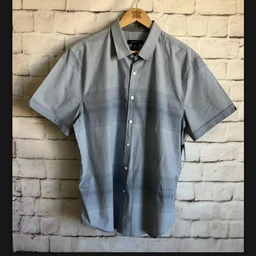 Structure Slim Fit Shirt, NWT, L