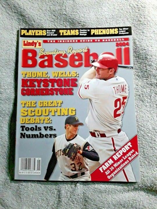Lindys 2004 Baseball Magazine Thome