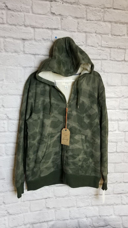 Weatherproof Vintage Hoodie Zipper Sz L