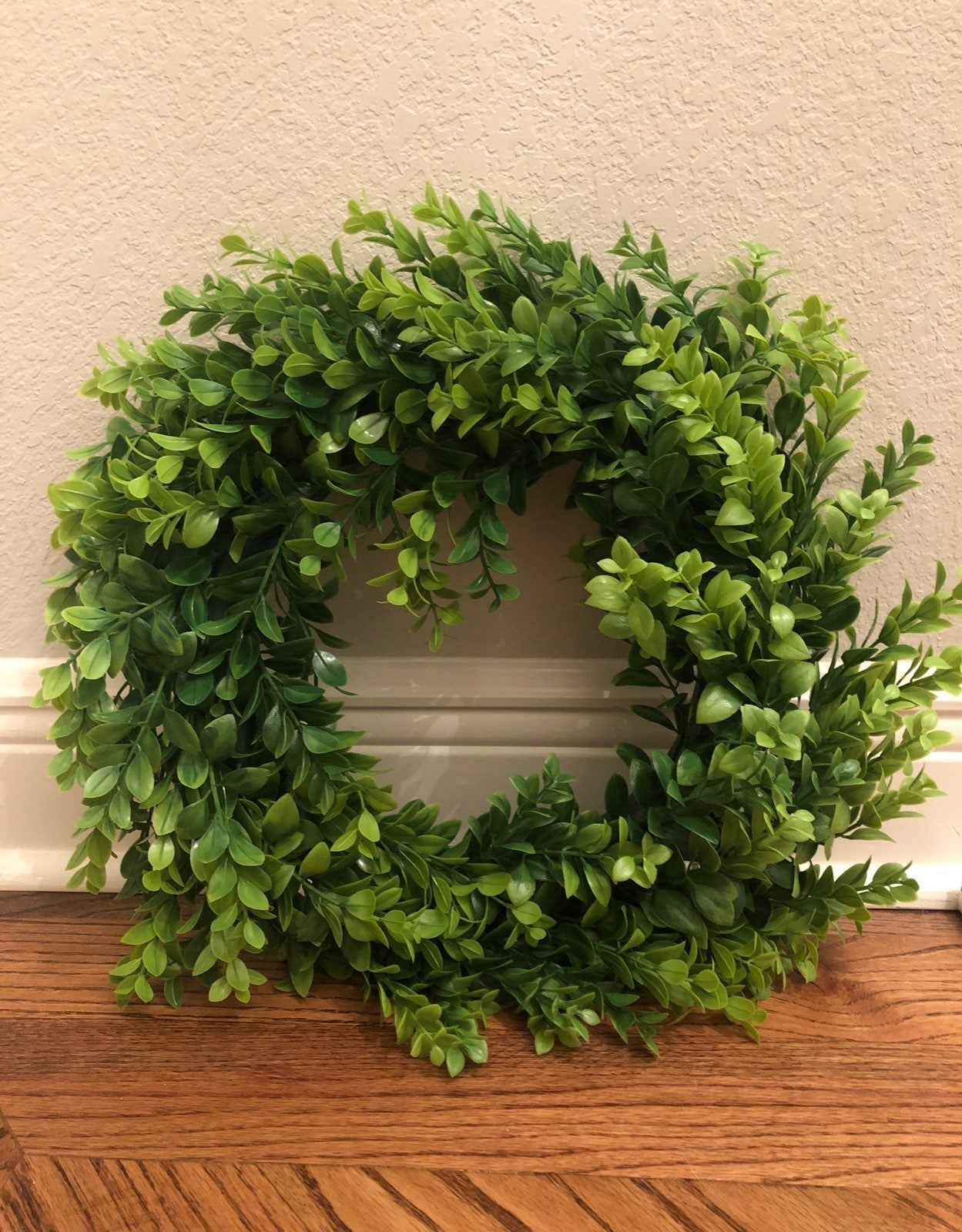 "15"" Artificial Decorative Boxwood Wreath"