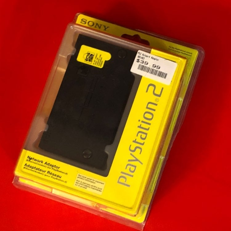 NEW - Playstation 2 PS2 Network Adapter