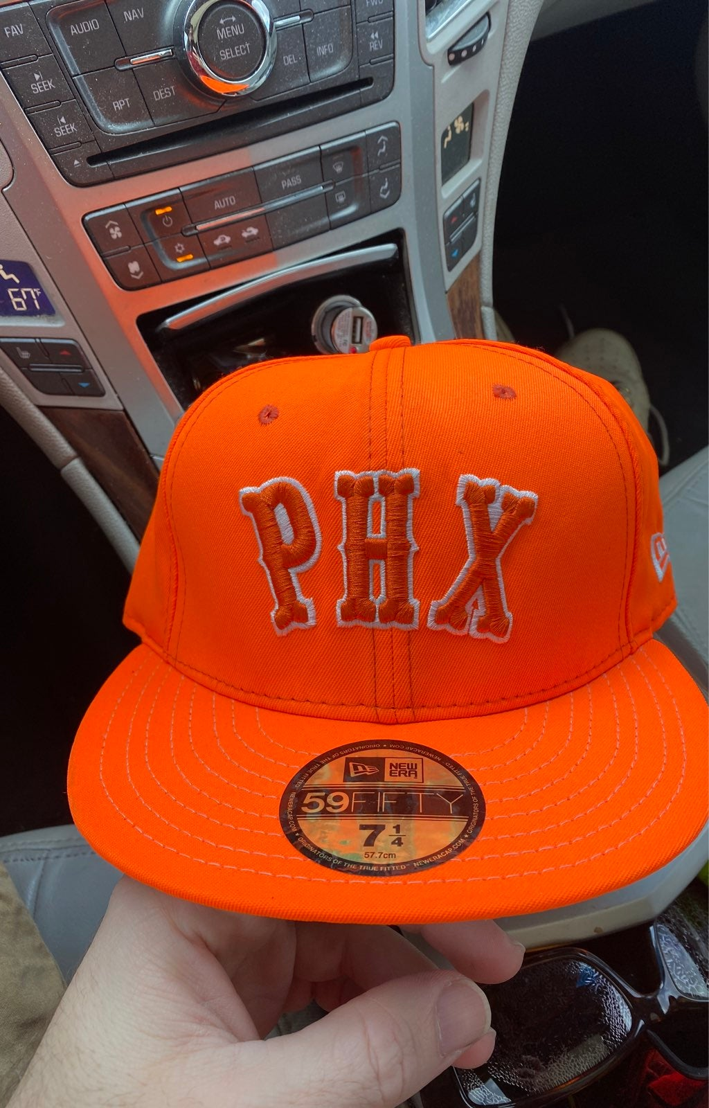 Nein orange phoenix suns Hat