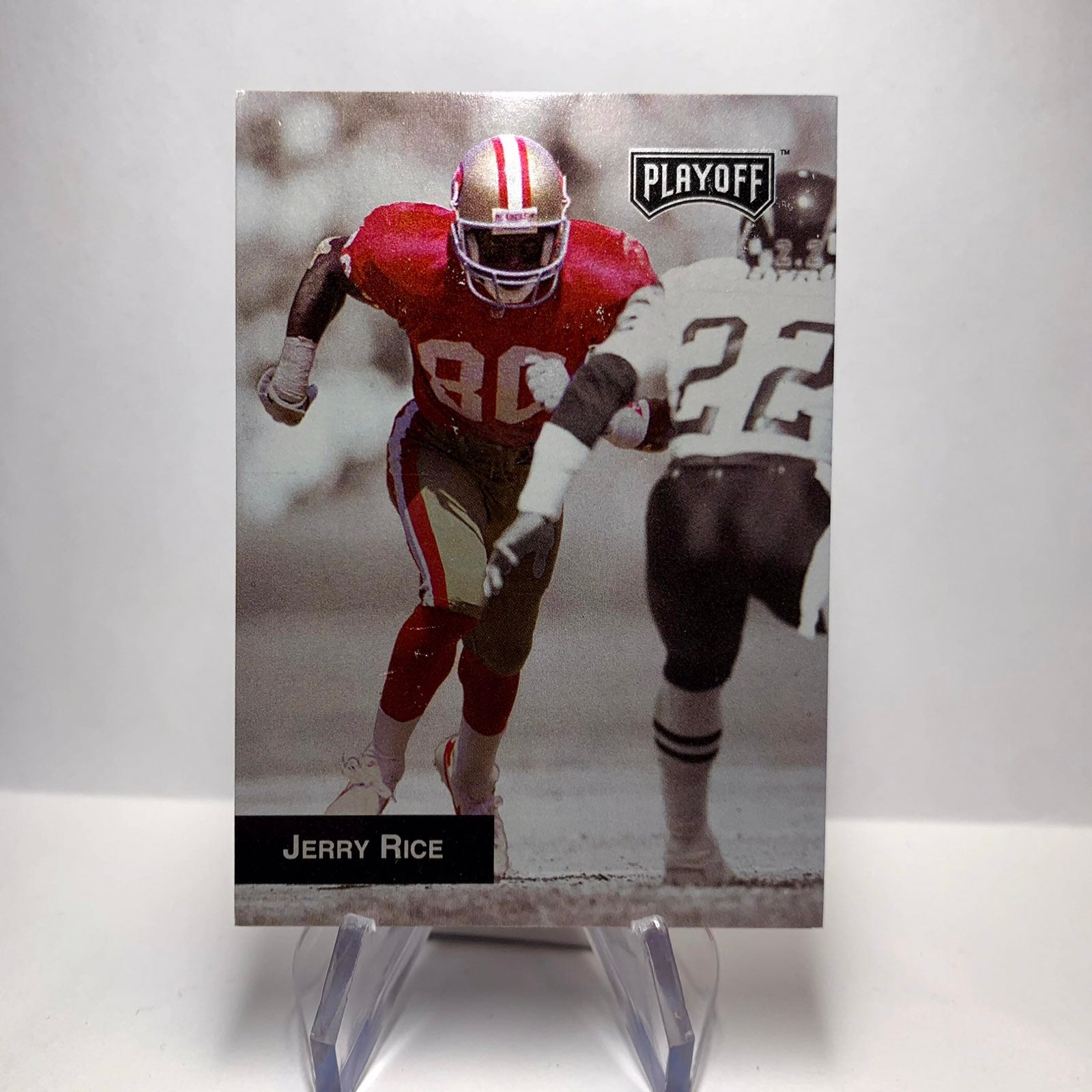 Vtg 1993 Jerry Rice NFL Card