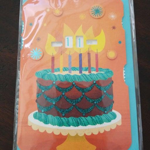 Hallmark Birthday Card