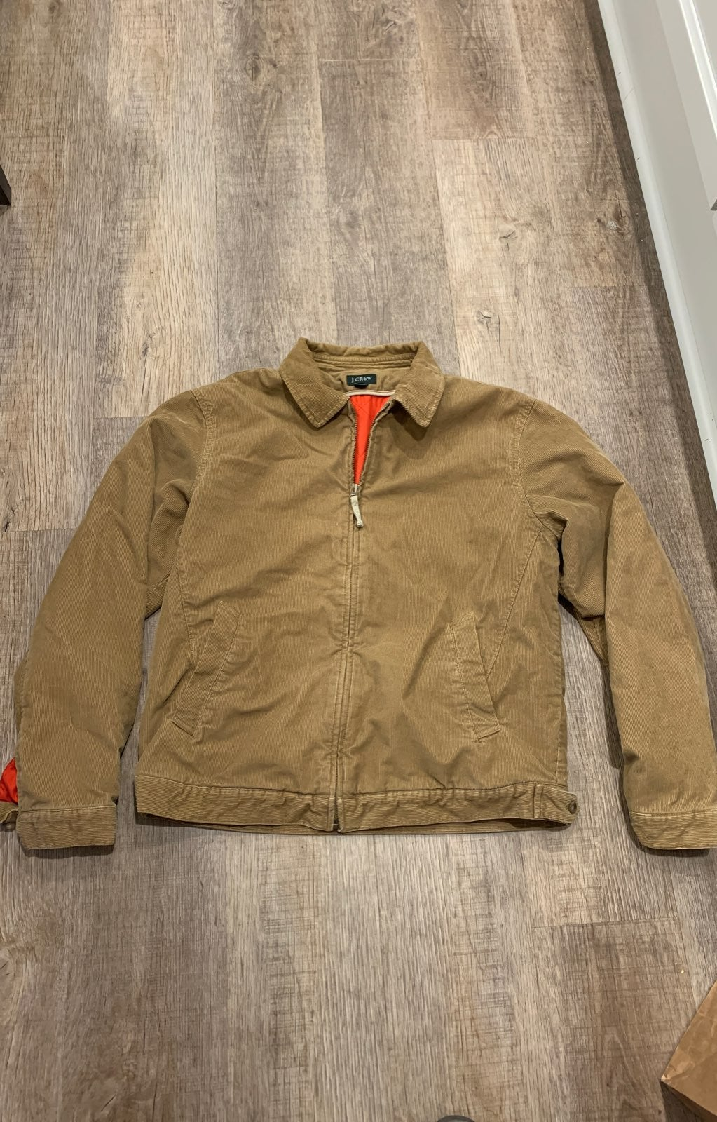 JCrew mens courduroy jacket