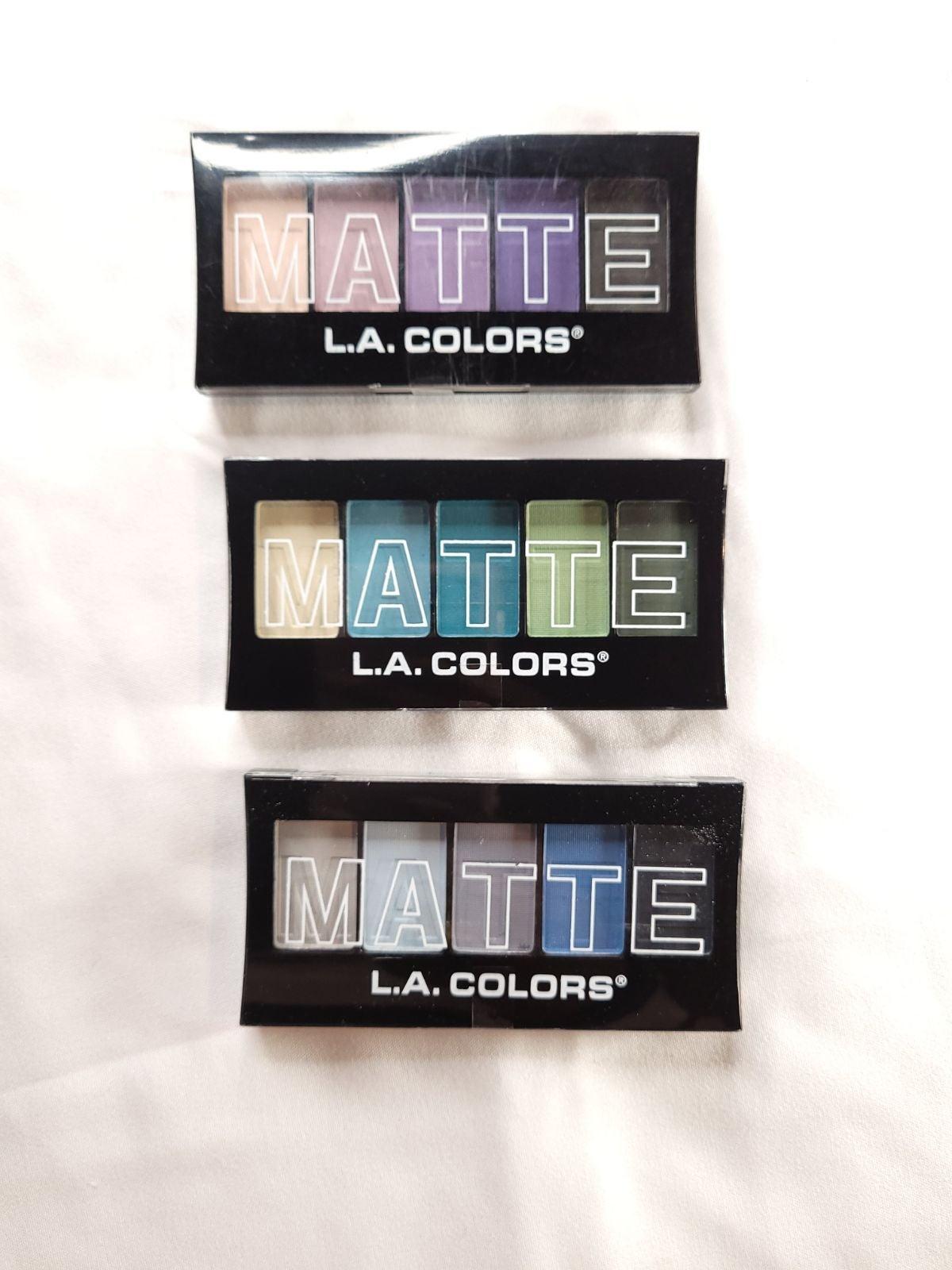 Matte Eyeshadow 3 Palette Set
