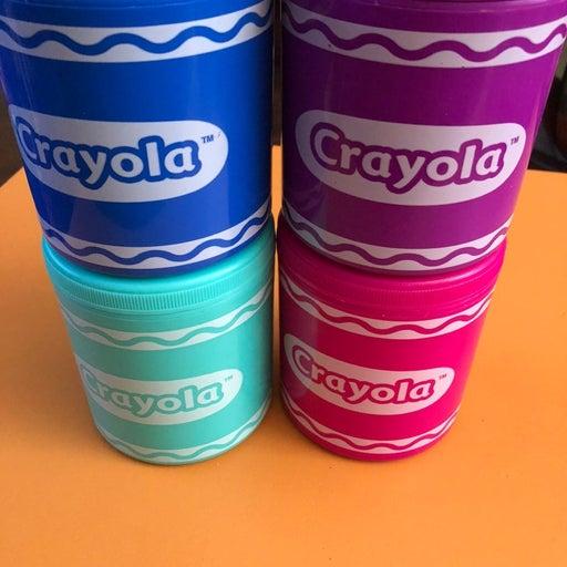 Crayola short thermos alm 4 colors