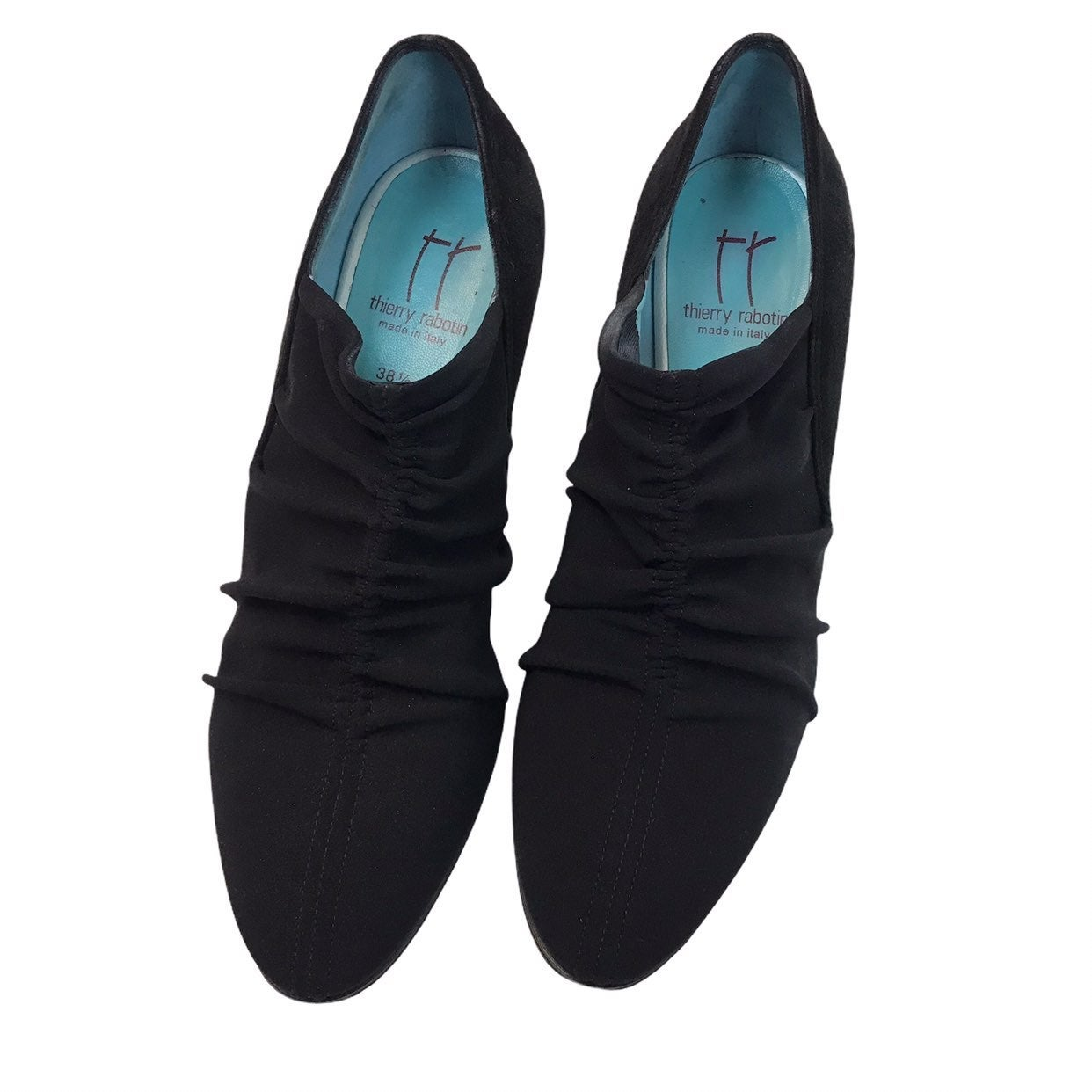 Thierry Rabotin Black Suede shoes 38 1/2