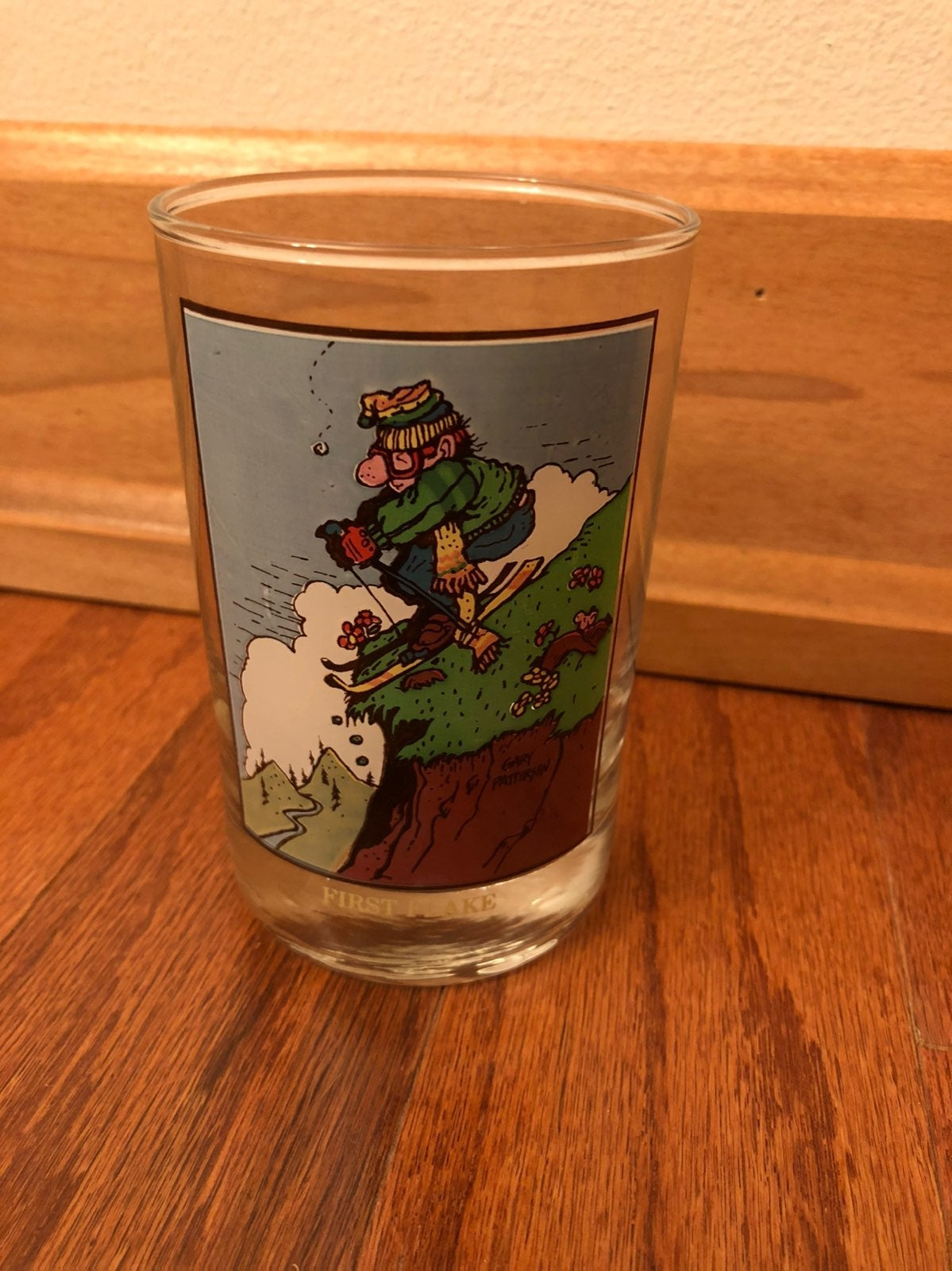 1982 Arby's Collectors glass First Flake