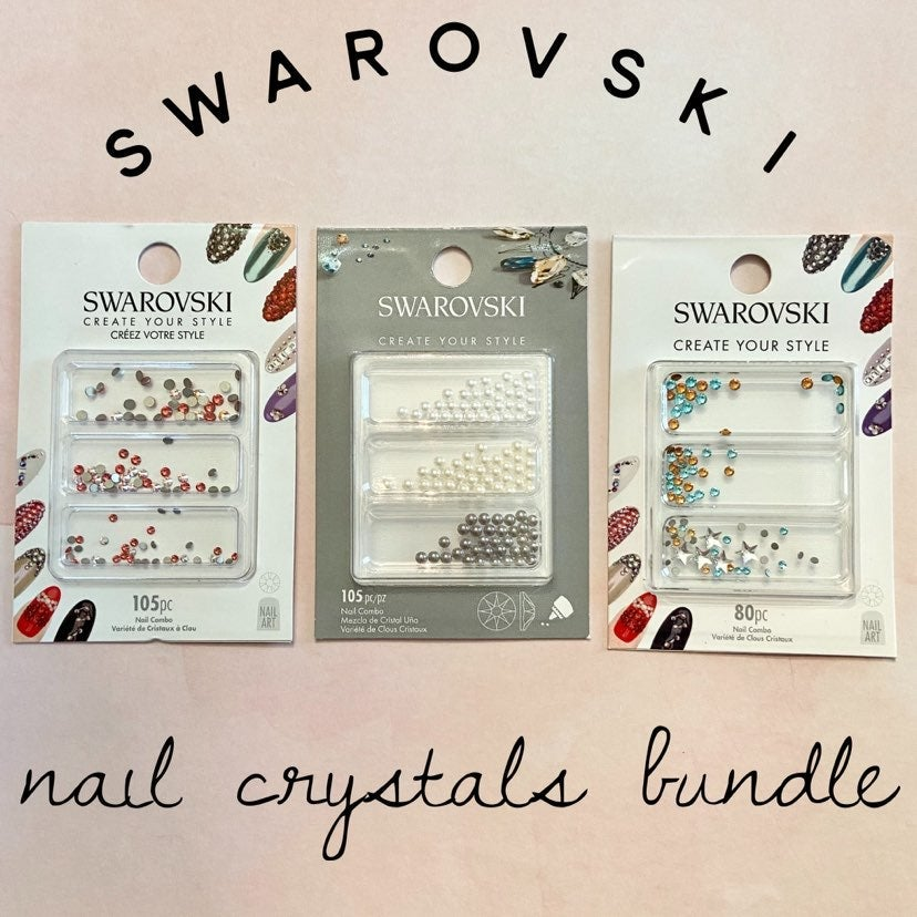 Swarovski Nail Crystal Bundle
