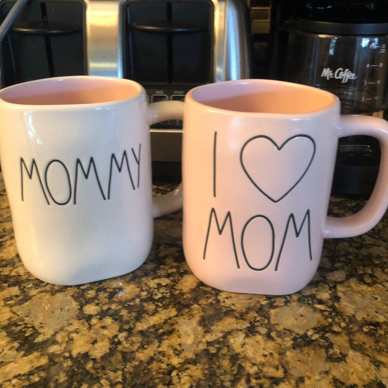 Rae Dunn mom mugs
