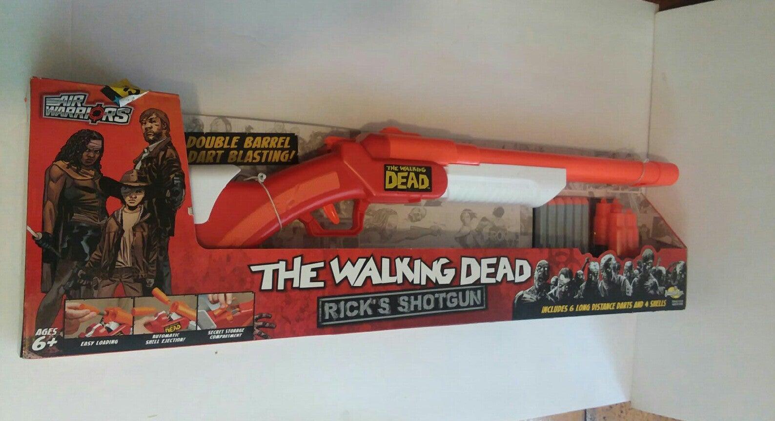 Walking Dead  Ricks Shotgun/foamdarts/sh