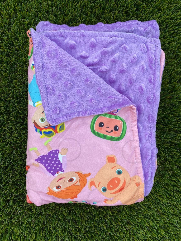 Cocomelon Minky Unisex Toddler Blanket