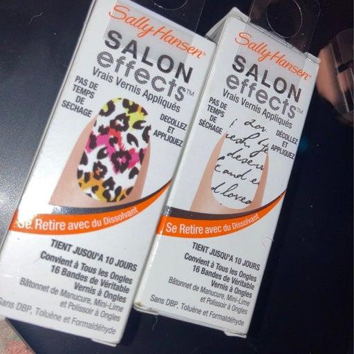 Sally hansen salon effects
