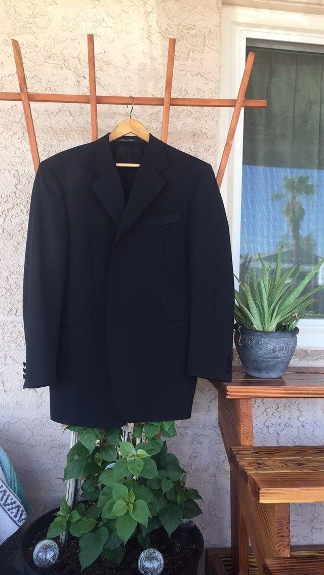 Canali Mens Tuxedo-Style Coat, Italy NWO