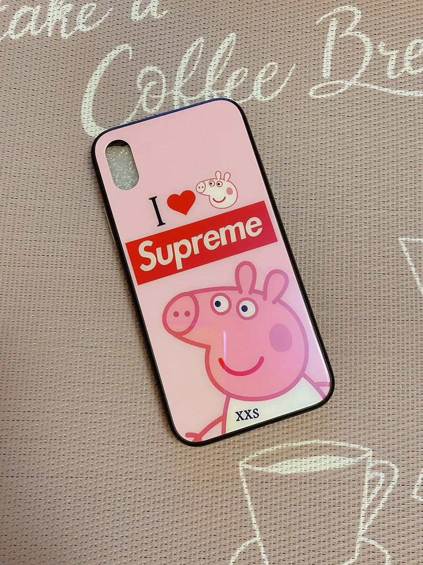 iPhone X / XS case pink