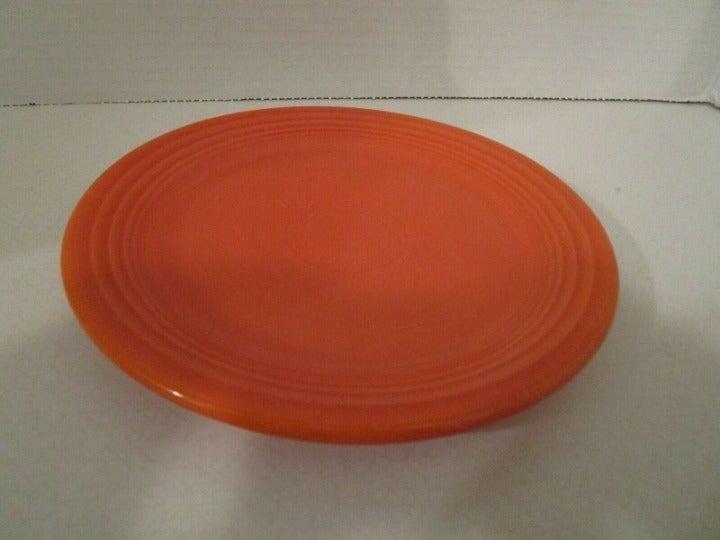 Fiesta Red / Orange Dinner & Salad Plate