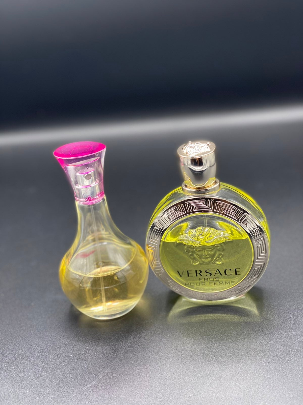 versace eros pour femme/ can can perfume