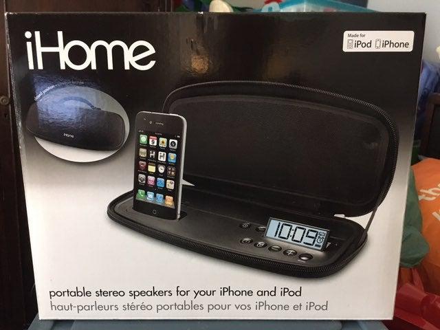 iHome Portable Stereo Speaker