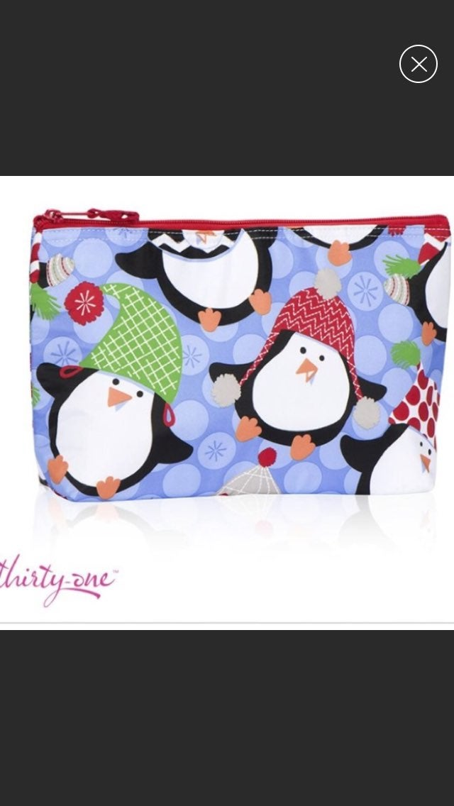 Thirty-One Medium Thermal Zipper Pouch