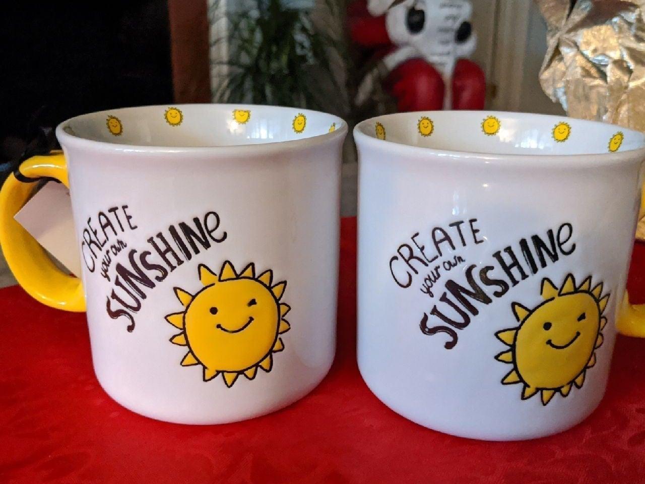 2 Sunshine Mugs