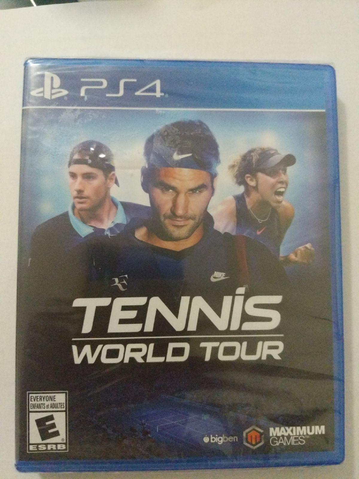Tennis world tour PS4 new