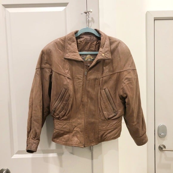 Adventure Bound Leather Bomber Jacket
