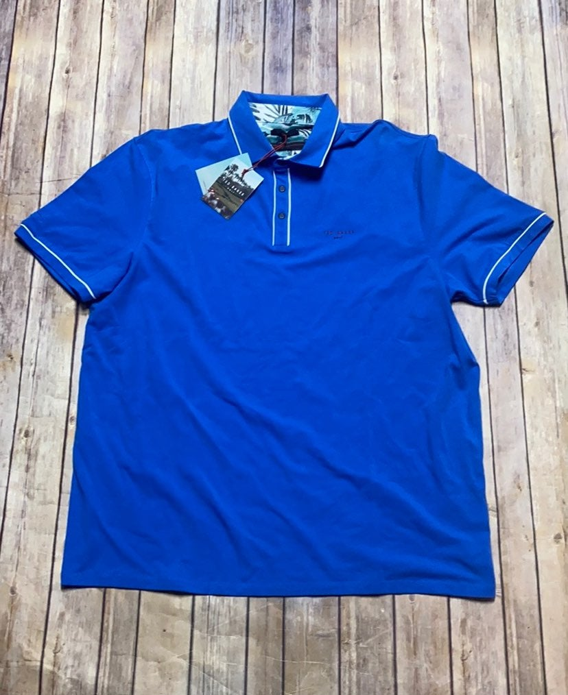 NWT Ted Baker Golf Polo Top. Size 6. Col