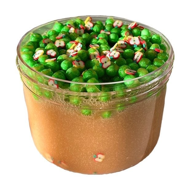 Caramel Apple Crispies Slime~Crunchy~8oz