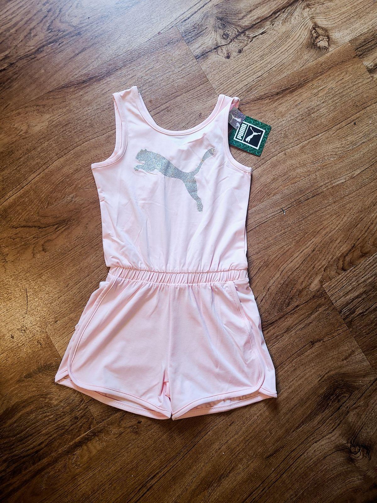 Puma Shorts Romper NWT pink