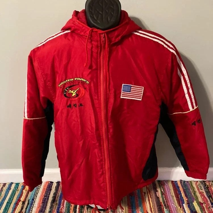 Martial Arts USA Jacket Hooded Zip Up
