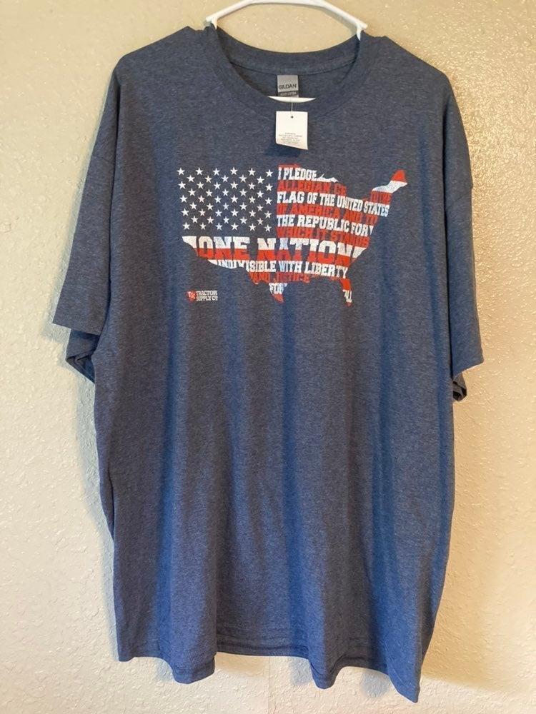 Adult Unisex Patriotic USA shirt