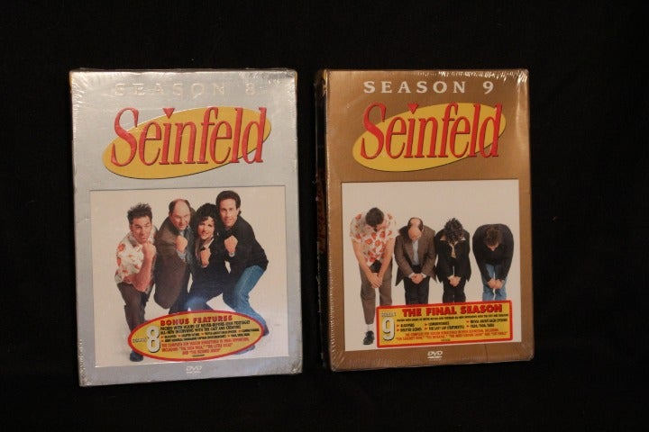 Seinfeld Seasons 8 and 9 sealed DVDs